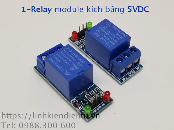 Module 1 Relay 5VDC không cách ly
