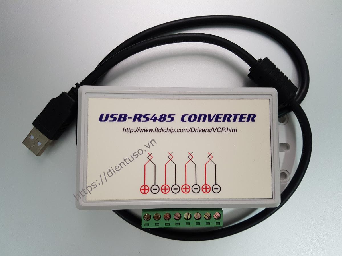 Bộ chuyển đổi USB sang 4 port RS485