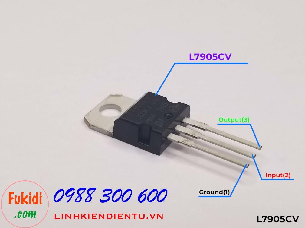 L7905CV - Ổn áp 5V 1.5A