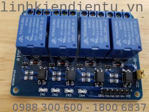 4-Relay Module 5VDC, 250V 10A