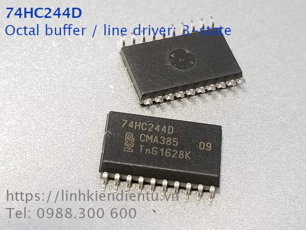 74HC244D Octal buffer / line driver; 3-state