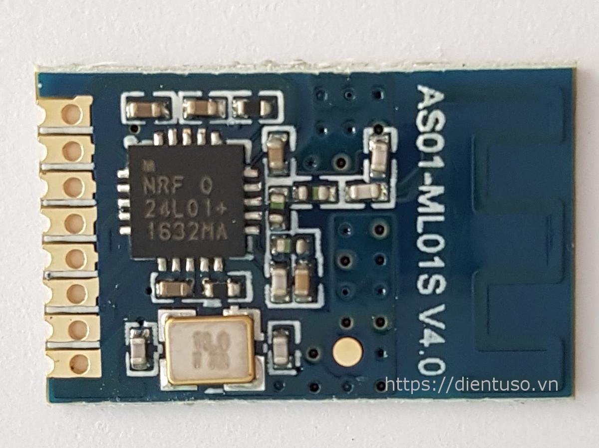 Module RF transceiver nRF24L01+, 2.4GHz, SMA Ant