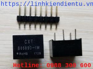 B0505D Cách ly nguồn DC và ổn áp 5V 1W