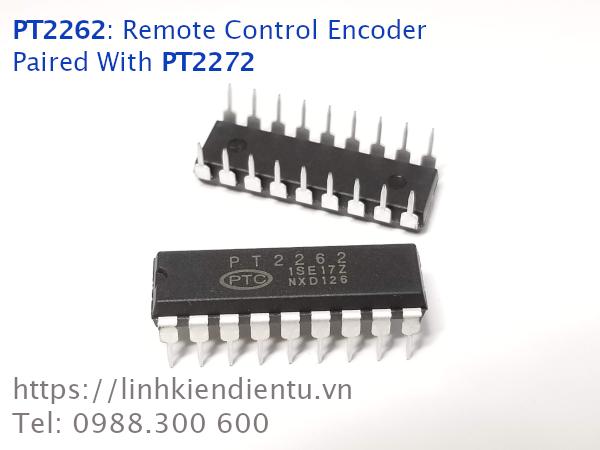 PT2262: Mã hóa dữ liệu để truyền đi bằng RF hoặc IR