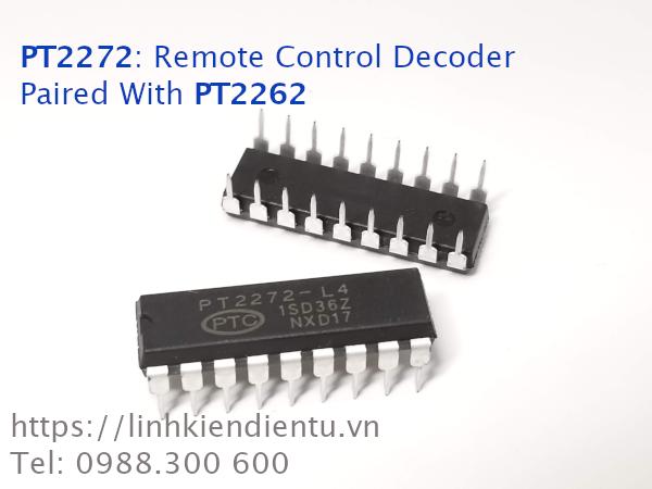PT2272: Giải mã dữ liệu nhận từ PT2262