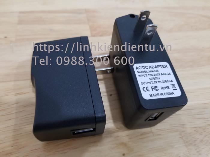 Nguồn 5V-3A, ngõ ra USB, dùng cho máy tính nhúng