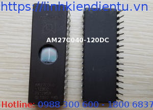 AM27C040-120DC - 512KB CMOS EPROM