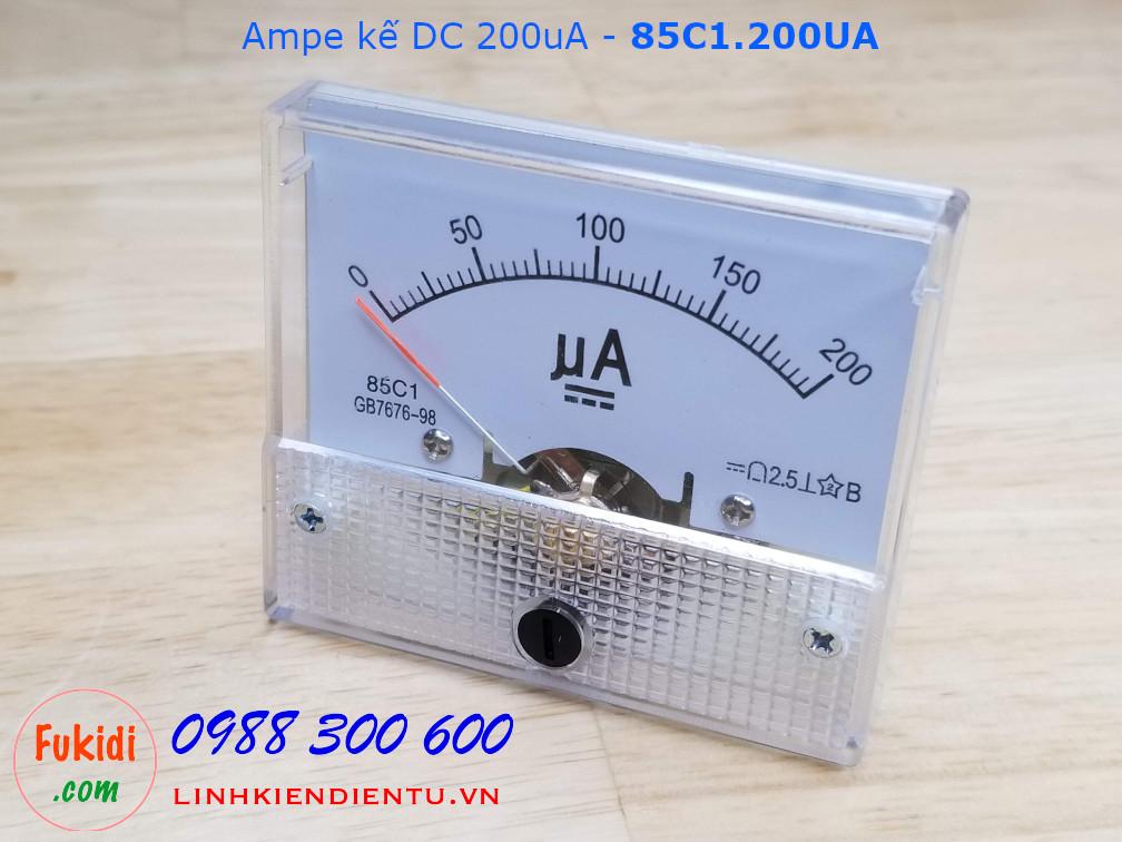 Ampe kế DC 200uA - 85C1.200UA