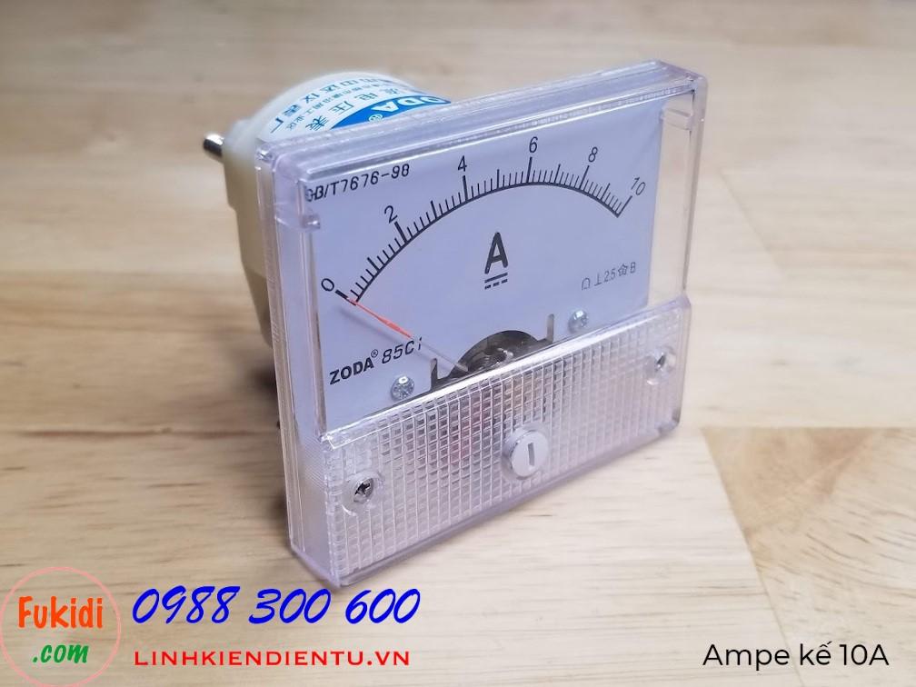 Ampe kế DC 10A 85C1 đo dòng điện DC với tầm đo 10A - 85C1.10A