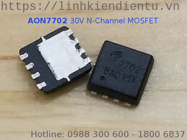 AON7702 30V N-Channel MOSFET