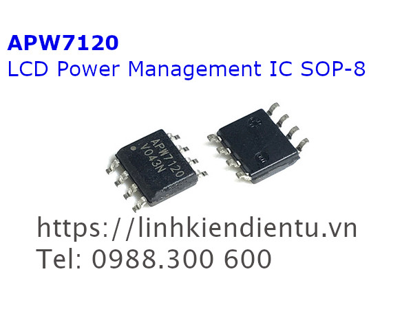 APW7120 LCD Power Management IC SOP-8