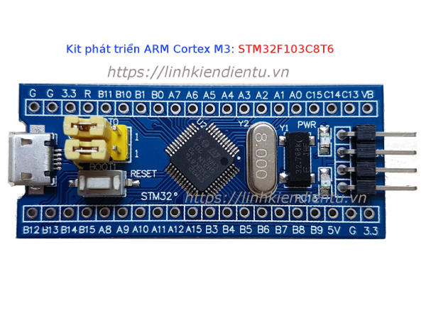 Kit phát triển ARM Cortex M3 - STM32F103C8T6