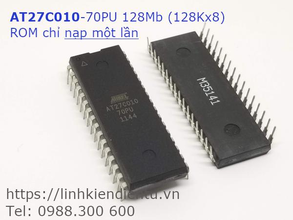 AT27C010-70PU ROM 128KB