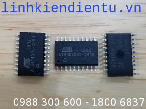 AT89C4051-24SU: 8-bit MCS với 4KByte Flash, 128Bytes SRAM, 20 chân