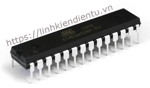 Atmel ATMEGA328P-PU 20MHz, 32Kbytes Flash