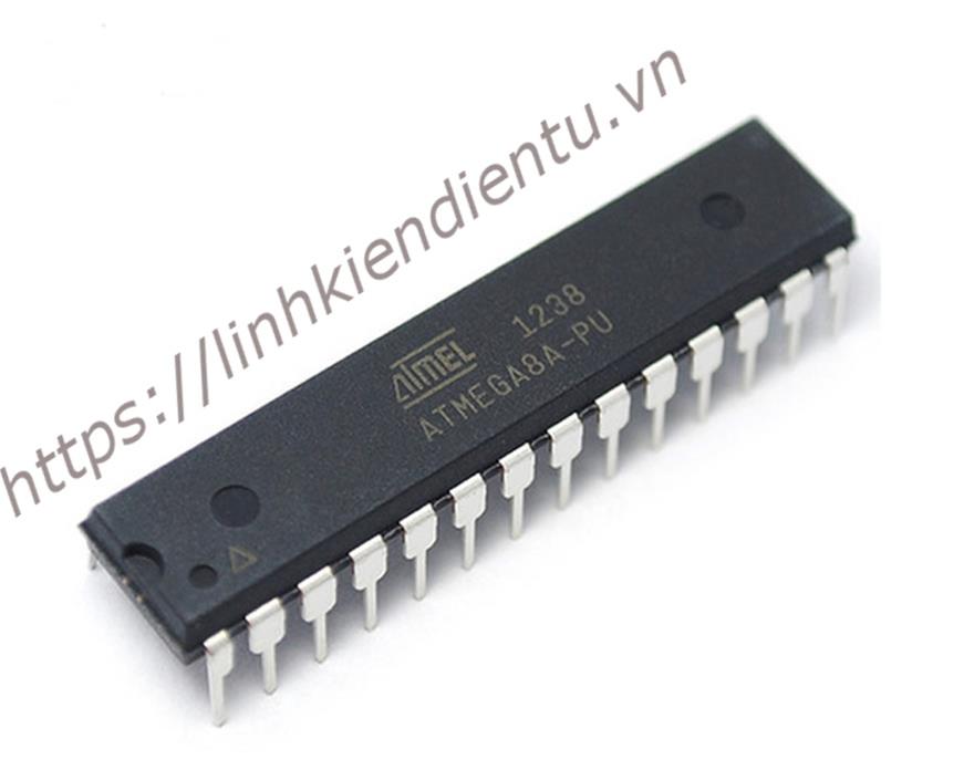ATMEGA8A-PU 16MHz 8KB Flash 1024byte RAM DIP28