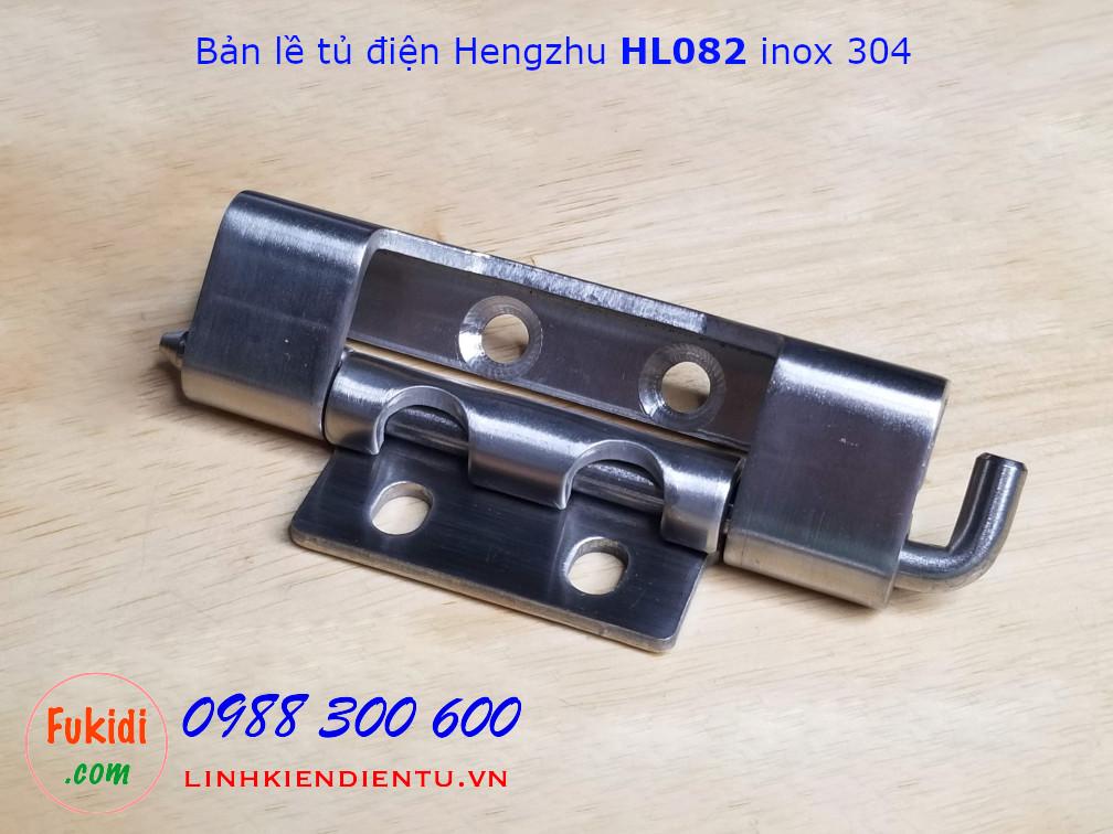 Bản lề tủ điện Hengzhu HL082 chất liệu inox 304 dài 90mm