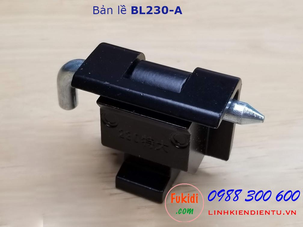 Bản lề tủ điện BL230-A chất liệu nhôm kích thước 40x36mm
