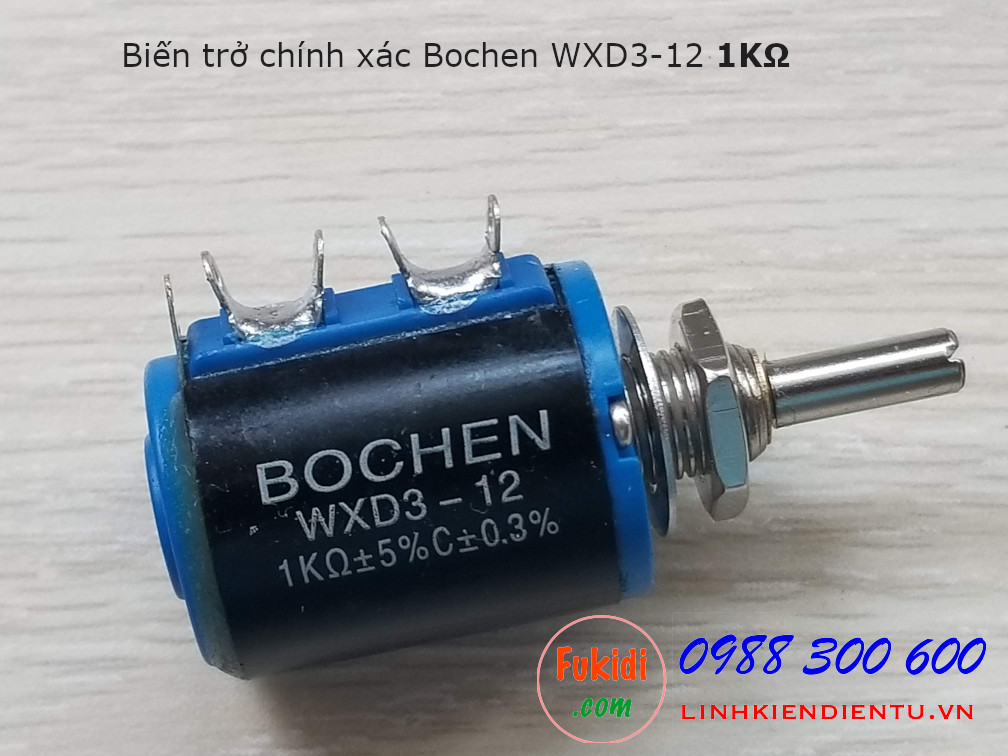Biến trở chính xác Bochen WXD3-12 1K