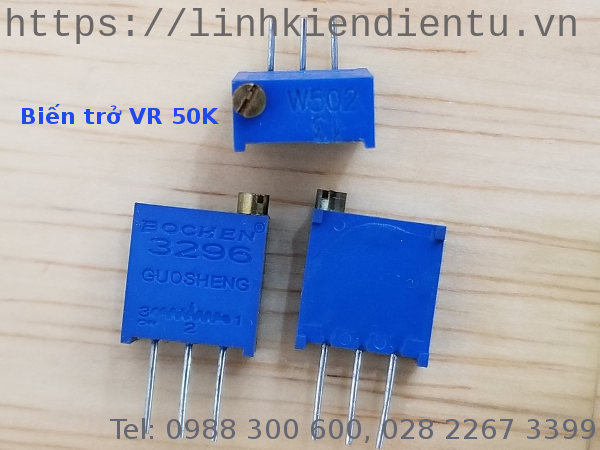 Biến trở Trimmer 5K: 3296W-502