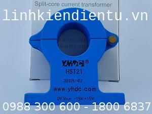 Cảm biến dòng YHDC HST21-300A/4V AC-DC