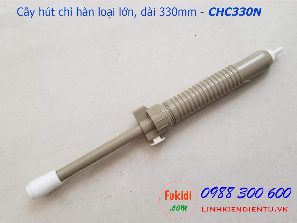 Cây hút chì hàn, hút thiếc hàn loại lớn bằng nhựa  dài 330mm - CHC330P
