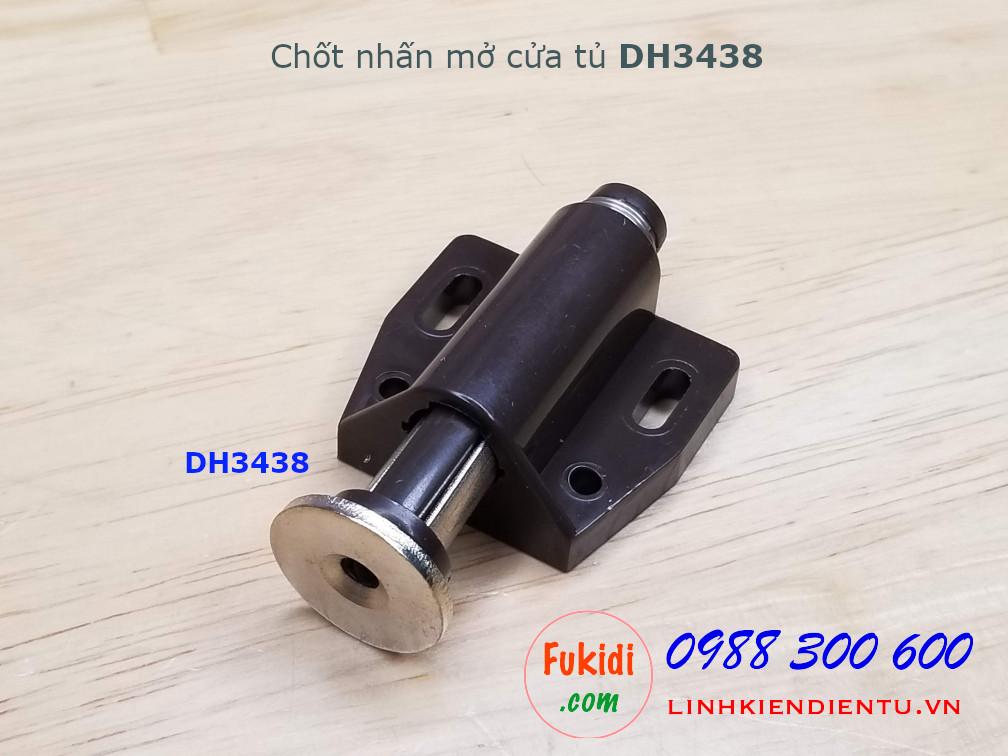 Chốt nam châm nhấn mở cửa size 34x38mm - DH3438