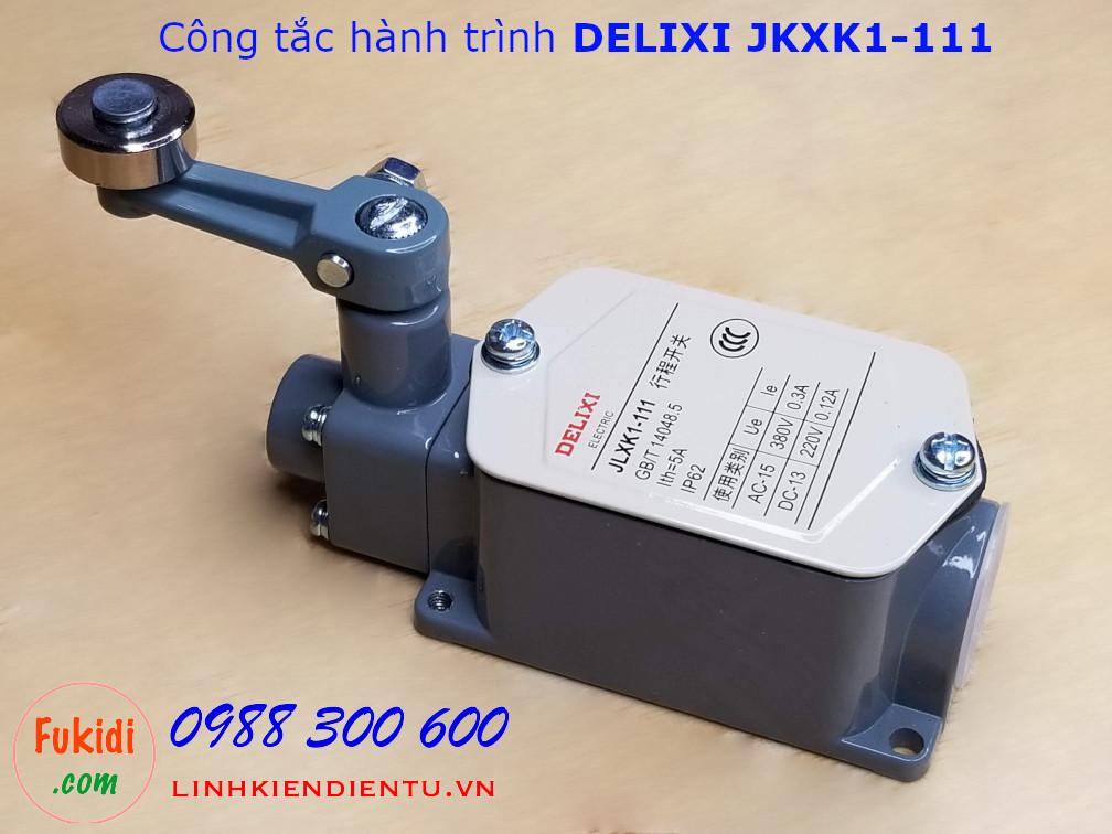 Công tắc hành trình DELIXI JLXK1-111 dạng gạt hai tiếp điểm NO và NC