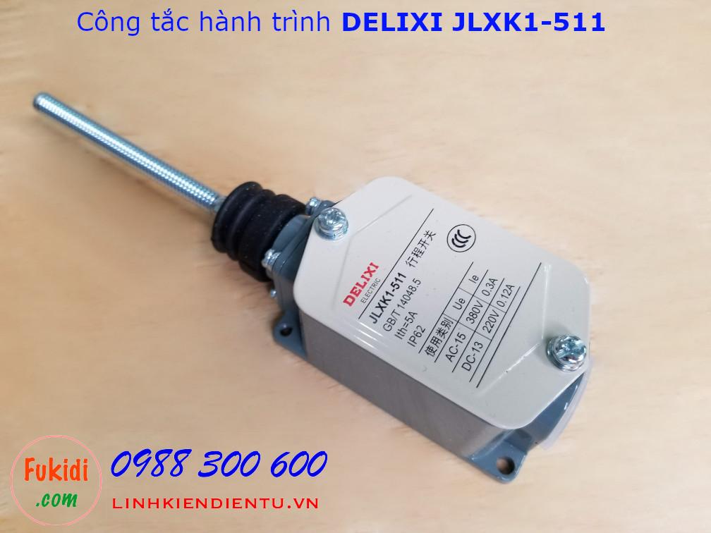 Công tắc hành trình DELIXI JLXK1-511 cần gạt dạng lò xo đàn hồi