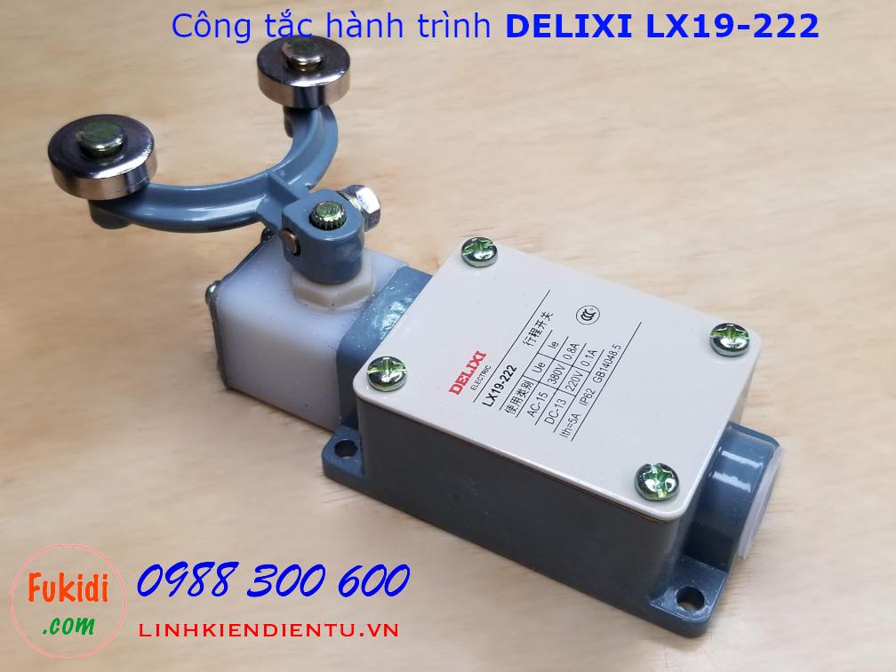 Công tắc hành trình DELIXI LX19-222 dạng sừng trâu