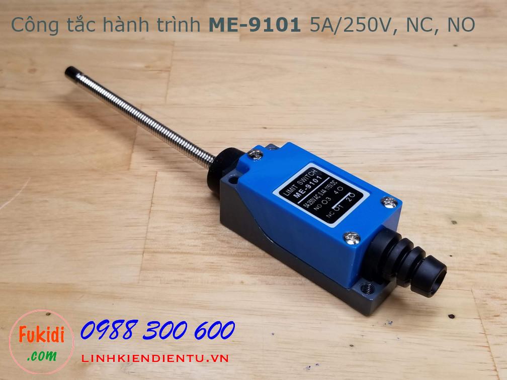 Công tắc hành trình ME-9101 5A/250V, tiếp điểm NO và NC, cần gạt nhiều hướng