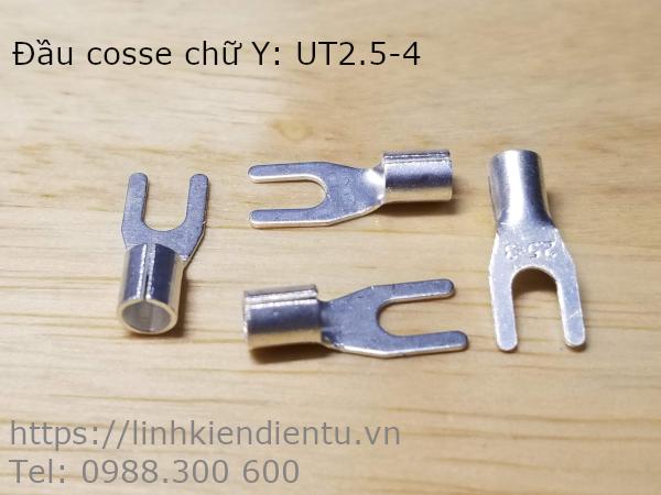 Đầu cosse chữ Y UT2.5-4 không vỏ