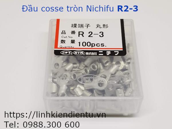 Đầu cosse tròn Nichifu R2-3