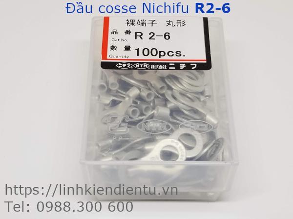 Đầu cosse tròn Nichifu R2-6