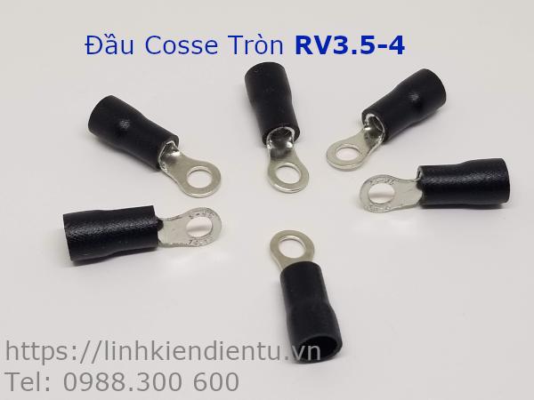 Đầu Cosse Tròn RV3.5-4