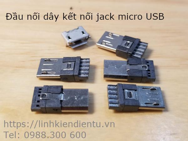 Đầu nối dây của jack cắm micro USB 5 chân (MICRO-5P)