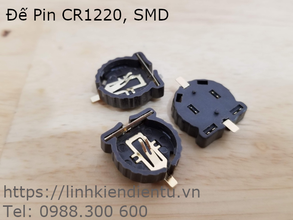 Đế Pin CR1220 BS-1220-2 SMD