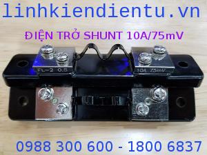 Điện trở shunt 10A/75mV FL-2