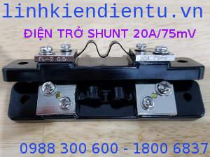 Điện trở shunt 20A/75mV FL-2