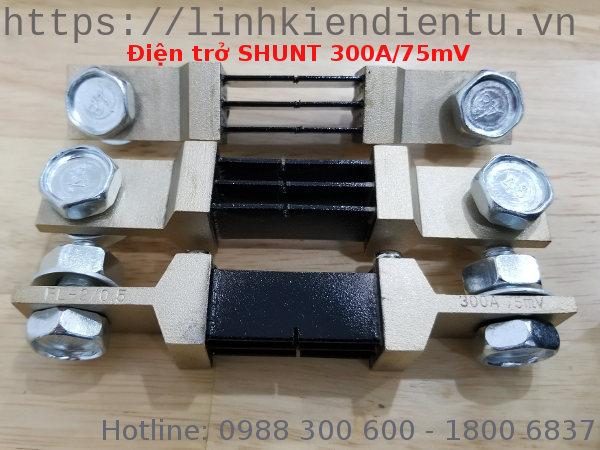 Điện trở shunt 300A/75mV FL-2
