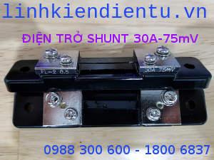 Điện trở shunt 30A/75mV FL-2