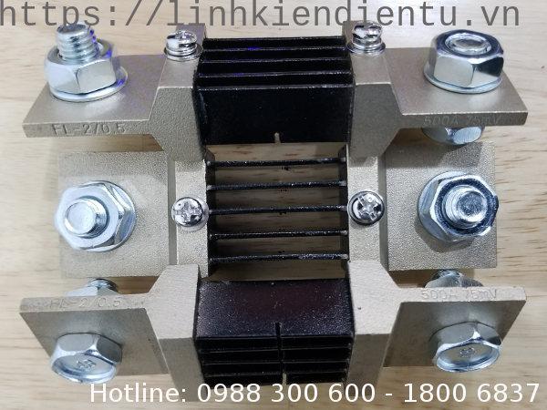 Điện trở shunt 500A 75mV FL-2