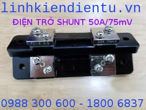 Điện trở shunt 50A/75mV FL-2