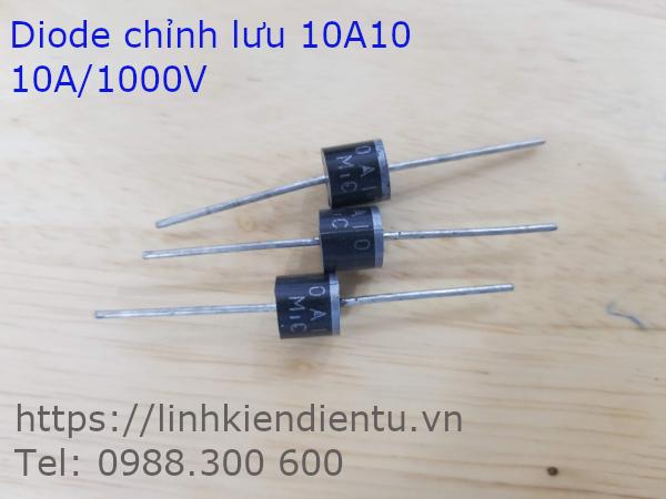 Diode chỉnh lưu 10A10, 10A/1000V