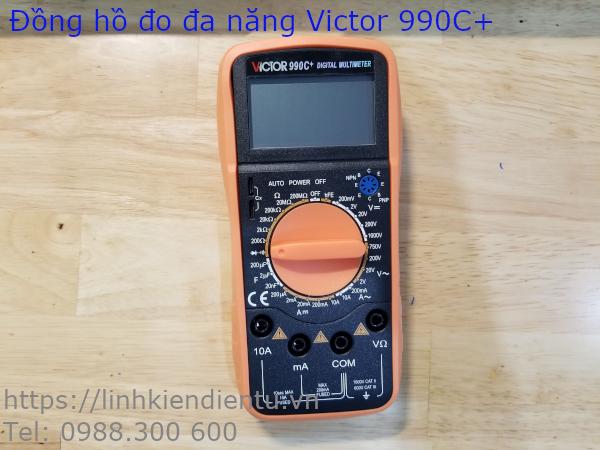 Đồng hồ đo đa năng Victor 990C+