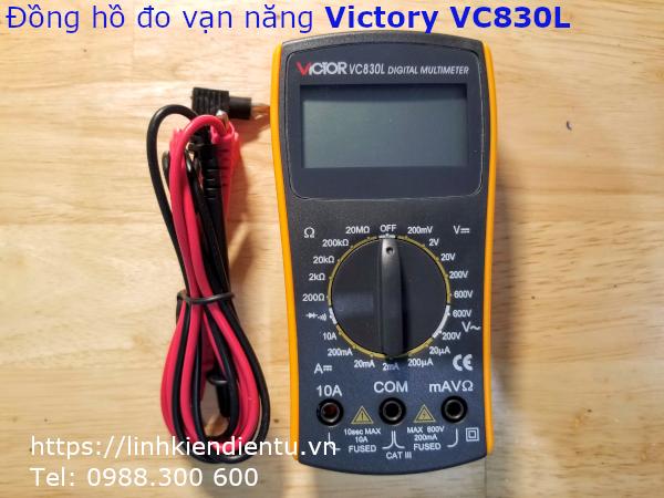 Đồng hồ đo đa năng Victor VL830L
