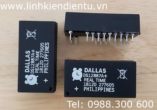 DS12887A+ Real Time Clock (RTC)