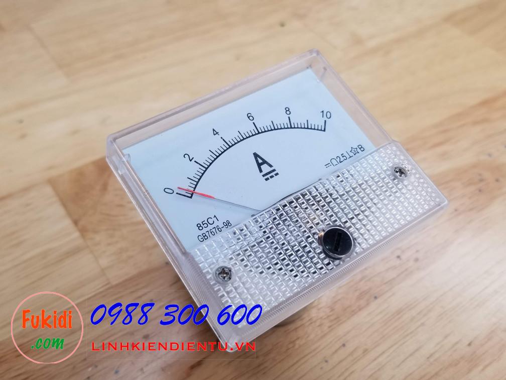 Ampe kế 85C1 đo dòng điện DC từ 0 đến 10A