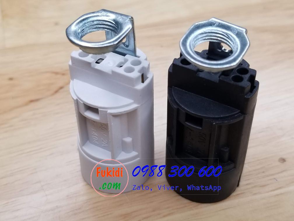 Chui đèn E14 kiểu vặn, dùng cho đèn LED dạng nến pha lê, đèn trang trí - SZ1404