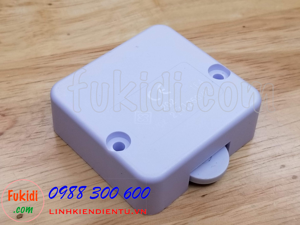 Công tắc đèn cho tủ áo, tủ bếp ESW202 màu trắng